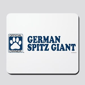 GERMAN SPITZ GIANT Mousepad