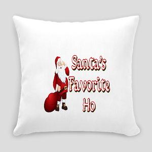 SANTA'S FAVORITE HO Everyday Pillow