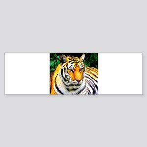 Oakland Zoo Tiger Bumper Sticker