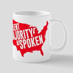 The Silent Majority Has Spoken Red Mug