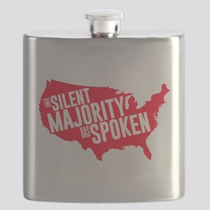 The Silent Majority Has Spoken Red Flask