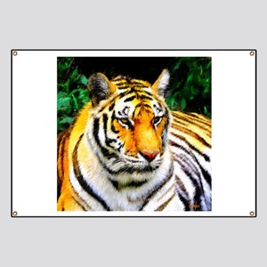 Oakland Zoo Tiger Banner