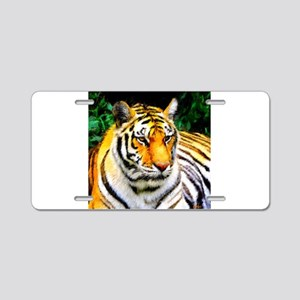 Oakland Zoo Tiger Aluminum License Plate