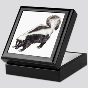 Skunk Keepsake Box