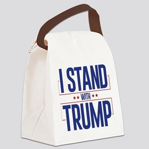 I Stand With Trump Canvas Lunch Bag