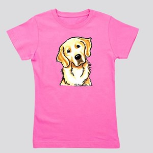 Golden Retriever Portrai T-Shirt