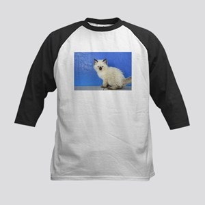 Sven - Seal Point Ragdoll Kitten Baseball Jersey