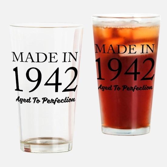 Unique 1942 birthday Drinking Glass