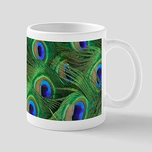 Beautiful Peacok feathers Mugs