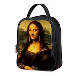 Mona Lisa makeover Neoprene Lunch Bag