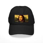 Mona Lisa makeover Baseball Hat