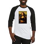 Mona Lisa makeover Baseball Jersey