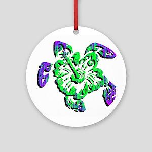 TURTLE Round Ornament