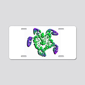 TURTLE Aluminum License Plate