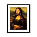 Mona Lisa makeover Framed Panel Print
