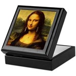 Mona Lisa makeover Keepsake Box