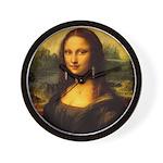 Mona Lisa makeover Wall Clock