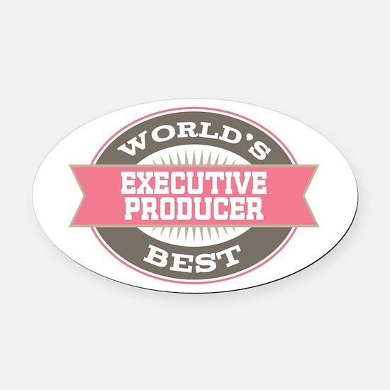 executive producer Oval Car Magnet