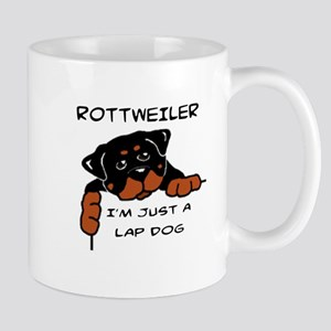 DOGS - ROTTWEILER - LAP DOG Mugs