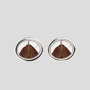 RAY Oval Cufflinks