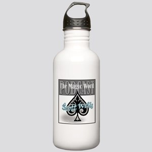 The Magic Word Podcast Logo Water Bottle