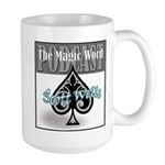 The Magic Word Podcast Logo Mugs