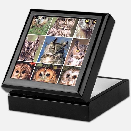 Owl personalized Keepsake Box