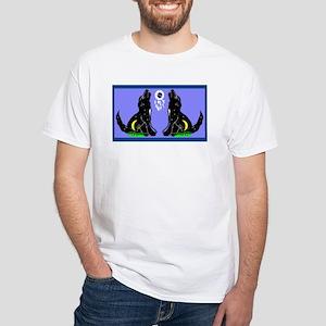 'Wolf's Bay' White T-Shirt