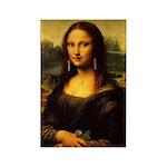 Mona Lisa Makeover Magnets
