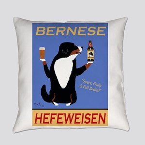 Bernese Hefeweisen Everyday Pillow