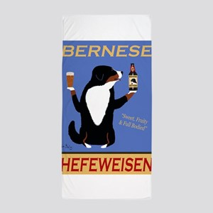 Bernese Hefeweisen Beach Towel