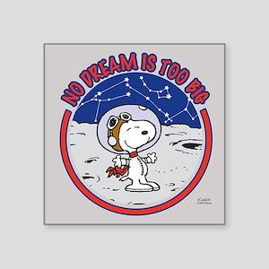 Peanuts No Dream Is Too Big Sticker