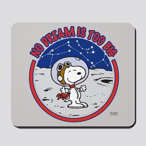 Peanuts No Dream Is Too Big Mousepad