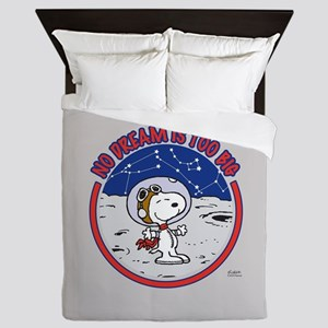 Peanuts No Dream Is Too Big Queen Duvet