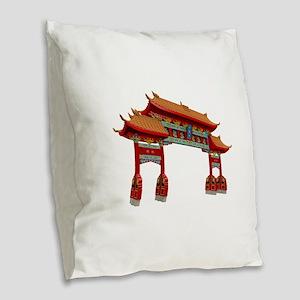GREAT Burlap Throw Pillow