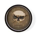 Bone Head Wall Clock