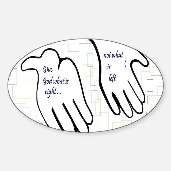 Unique Offerings Sticker (Oval)