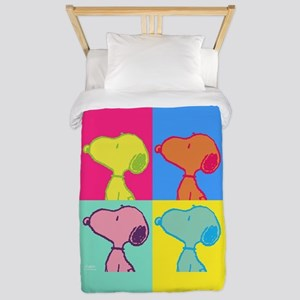 Snoopy Art Twin Duvet Cover