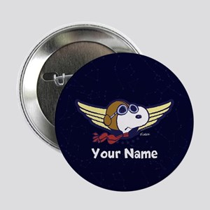 "Snoopy Ace Personalized 2.25"" Button"