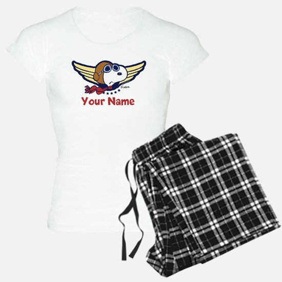 Snoopy Ace Personalized Pajamas