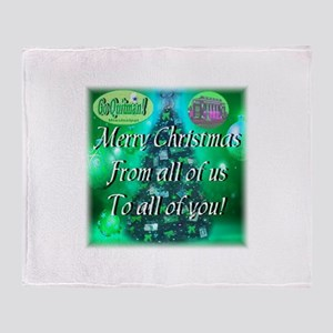 Go Quitman Xmas Throw Blanket