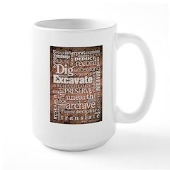 Archaeology Large Mug