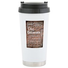 Archaeology Stainless Steel Travel Mug