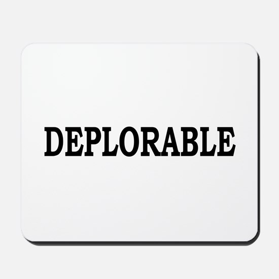 DEPLORABLE Mousepad