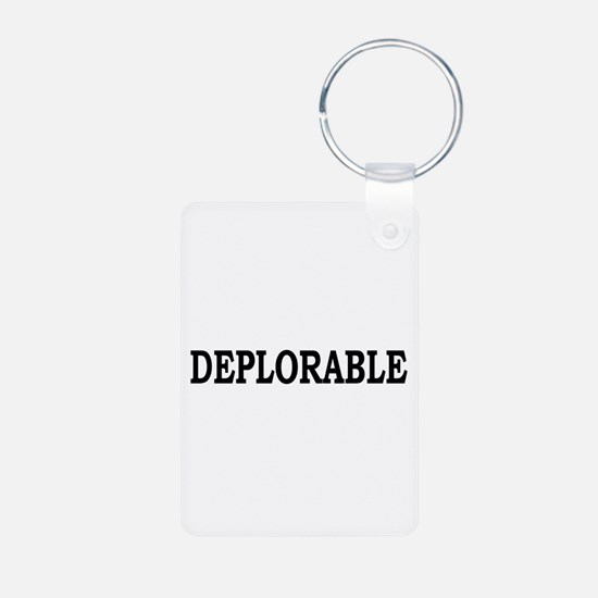 DEPLORABLE Keychains
