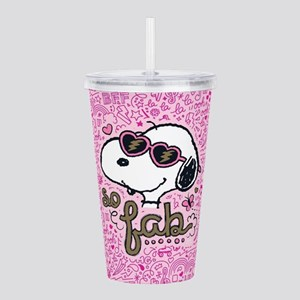 Peanuts So Fab Acrylic Double-wall Tumbler