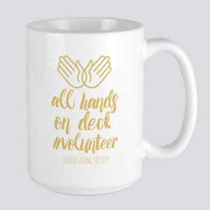 All Hands Large Mug Mugs