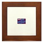 Surf card Framed Tile