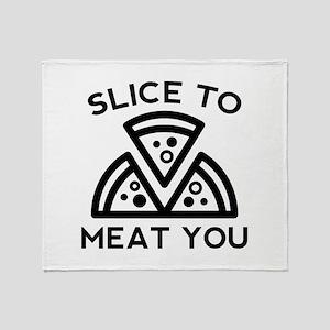 Slice To Meat You Stadium Blanket
