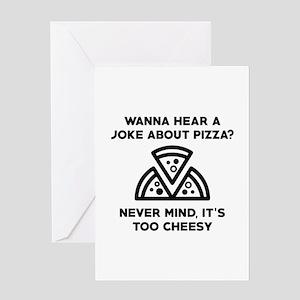 Pizza Joke Greeting Card